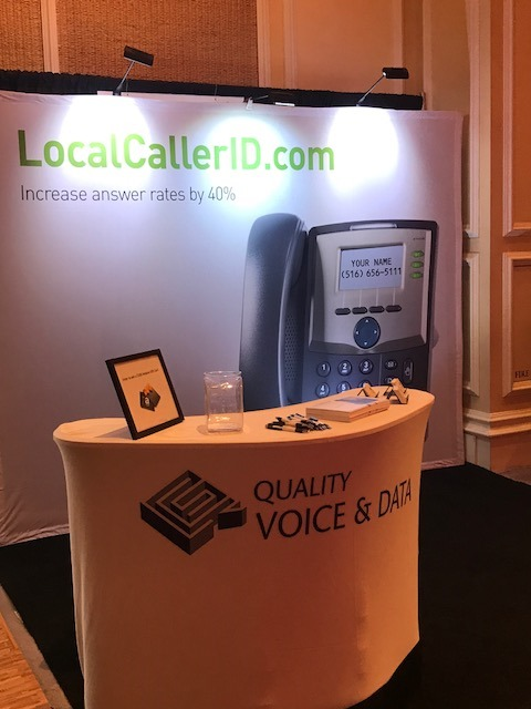 Image of Local Caller ID Booth at Call Center Week